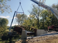 Liebherr LTM 1500 & 1300, Setting Bridge