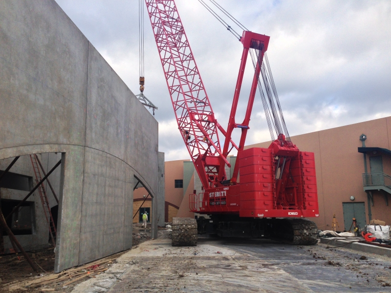 CK-2500 Kobelco Tilt Wall Project Chesterfield Mo