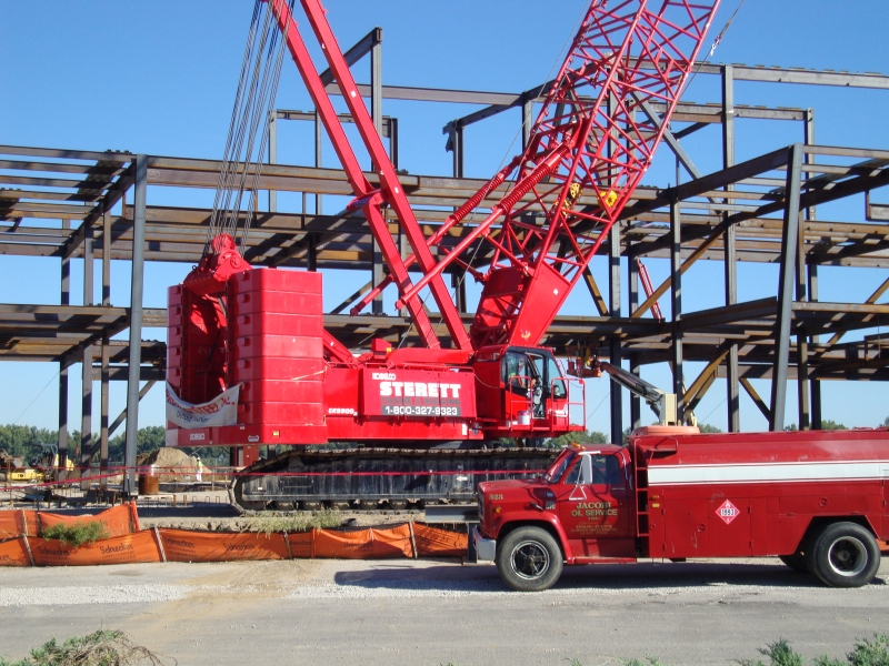 Kobelco CK 2500, Structure Setting, Convention Center