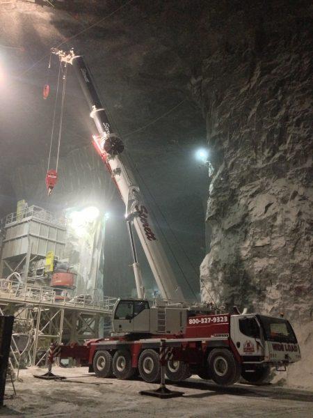 Liebherr LTM 1130 Coal Mine St Louis Mo