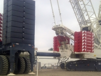 Terex CC 2800, Place Bag Houses, Middletown OH