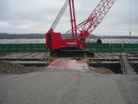 Kobelco 2500, Cave and Rock, Offload Barge