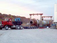 Pacific Prime Mover Nicolas Transporter Hauling Column Cayuga In
