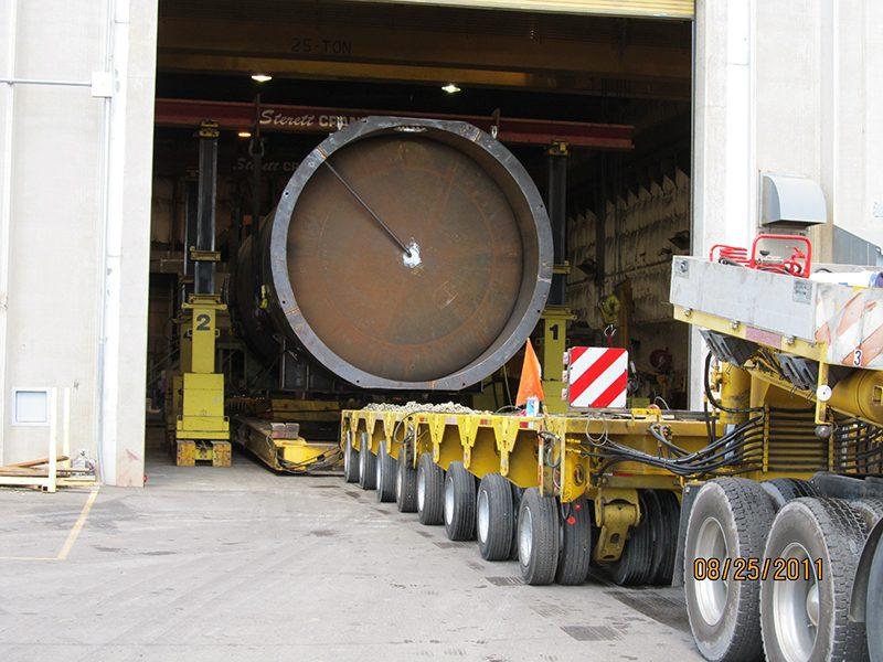 Wester-Star-,-Scheuerle-Transporter-Vessel-Relocation-Pocatello-Idaho-To-Richmond-KY