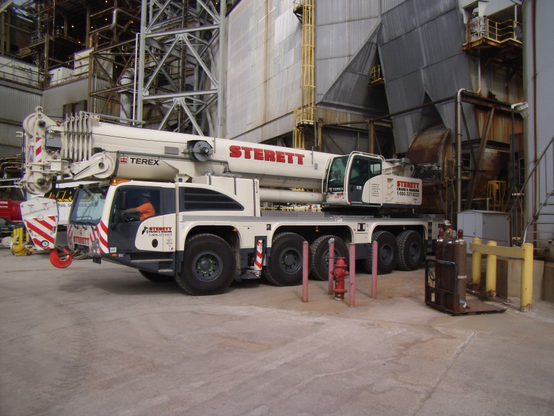 Terex Explorer 5800, lifting 4 Motors Mt Vernon, IN