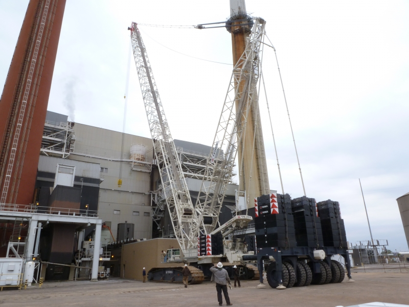 Terex Demag CC2800, Middletown OH