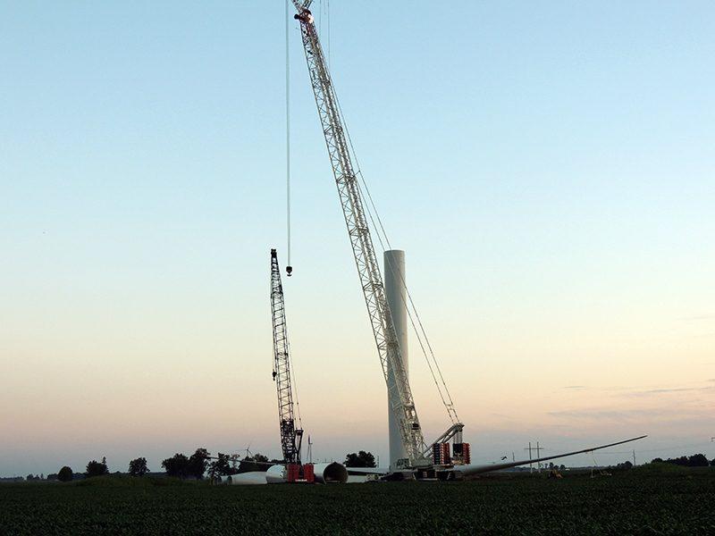 CC2800, Windfarm, Elwood